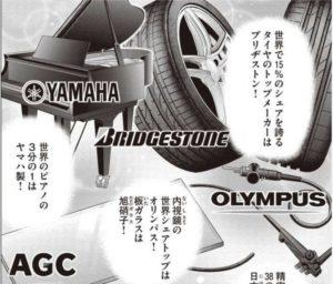 インベスターZ 世界シェアトップを走る日本企業